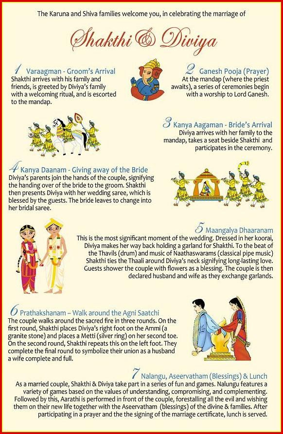 Indian Wedding Program Templates Free Templates-1  Resume Examples