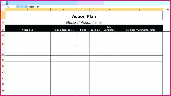Project Management Work Plan Template Excel Templates-1  Resume