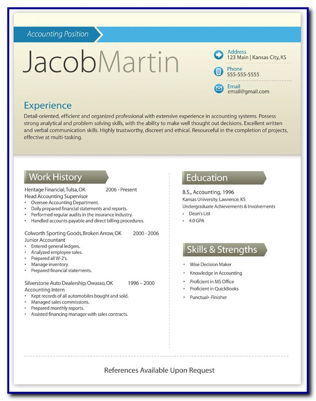 Best Free Resume Templates 2018 Word Templates-1  Resume Examples