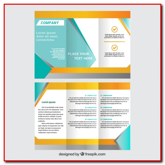 Tri Fold Brochure Template Free Download Templates-1  Resume Examples