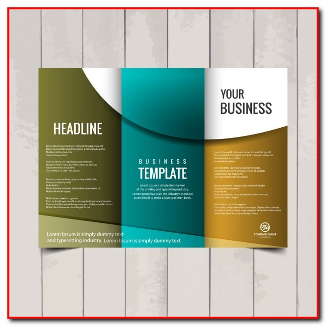 Tri Fold Brochure Template Free Templates-1  Resume Examples