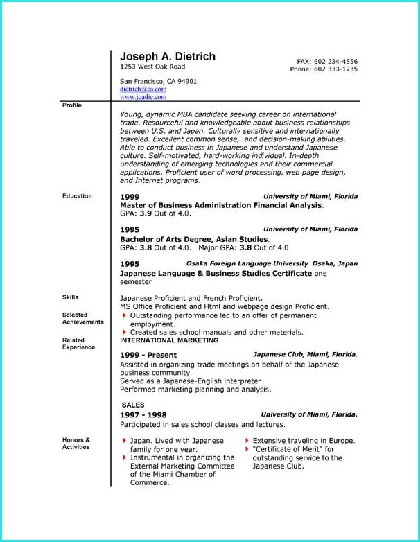 Download Resume Templates Word 2010 Templates-1  Resume Examples