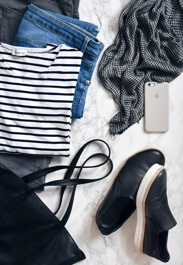 Packing a capsule wardrobe | These Four Walls blog