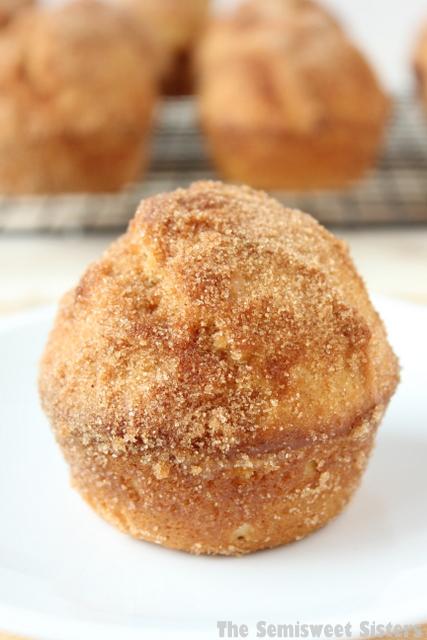 Cinnamon & Sugar Donut Muffins