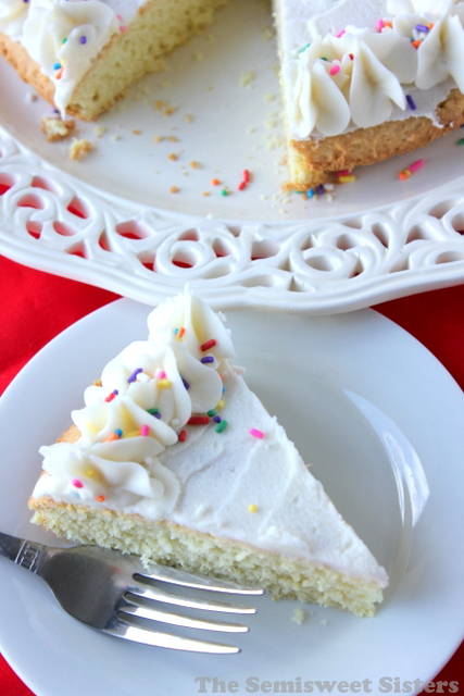 Giant Sugar Cookie Cake: a mix between a giant sugar cookie & a ...