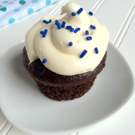 Chocolate Cupcakes Made with Oil