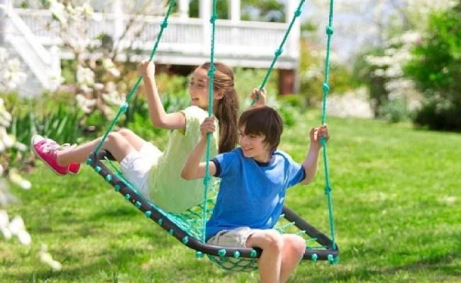 Hearthsong Deluxe Platform Swing Vestibular Toys The