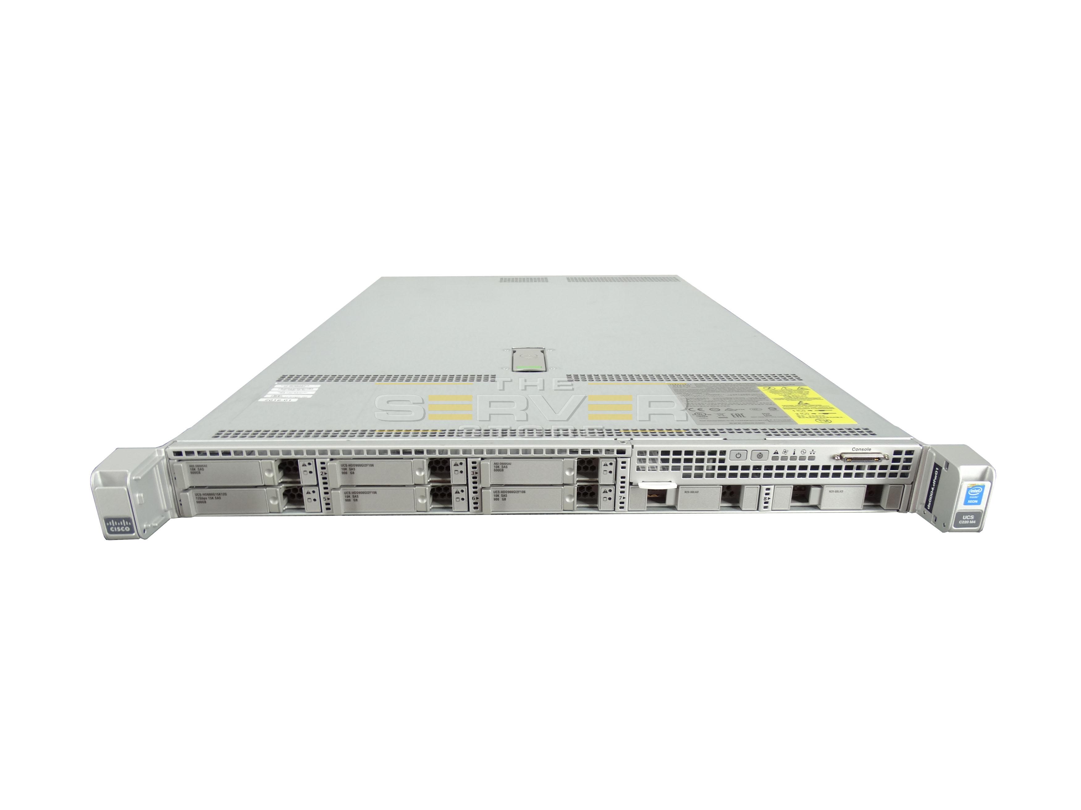 Cisco Ucs C220 M4 8x Sff 2u Rack Mount Server