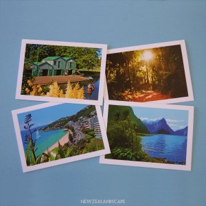 New Zealand greeting cards - set of 4