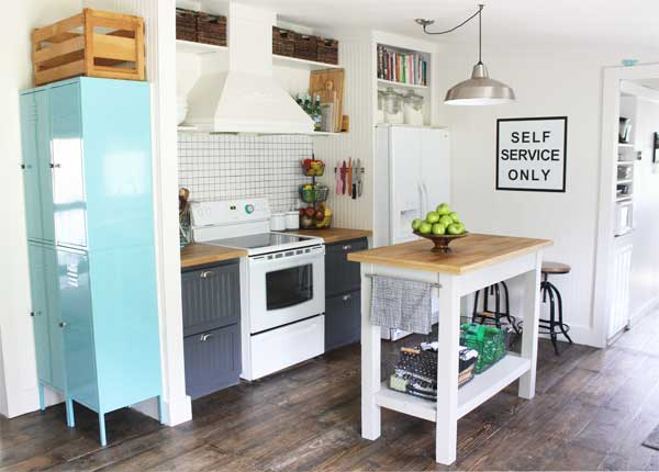 Small Kitchen Makeover in a mobile home - kitchen makeover ideas