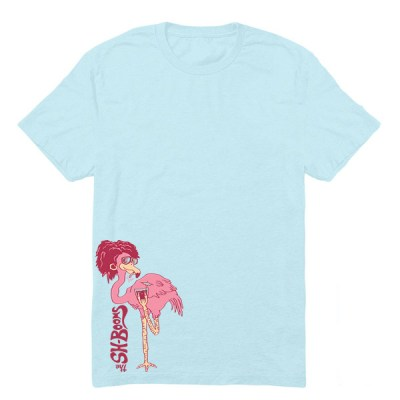 FlamingoShirtBlue