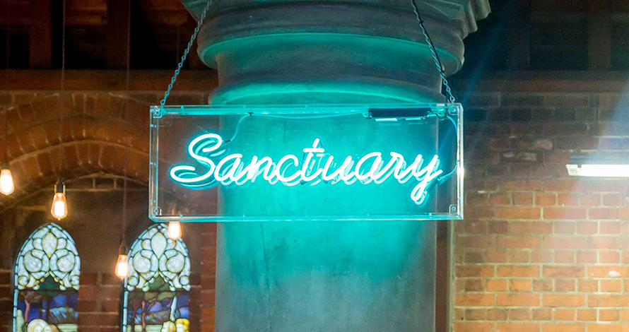 The Sanctuary Cafe London's most secret cafes