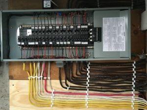 wiring new breaker in house panel