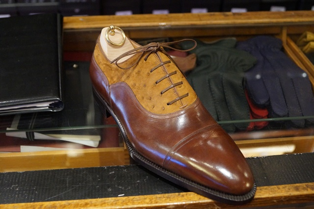 Stefano Bemer two toned balmoral oxford 2