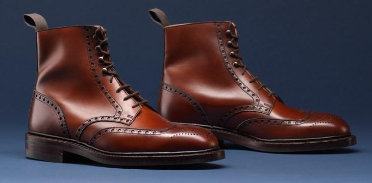 Your go to brogue boots by Crockett & Jones