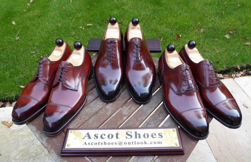 Vass shoes courtest of Ascot Shoes