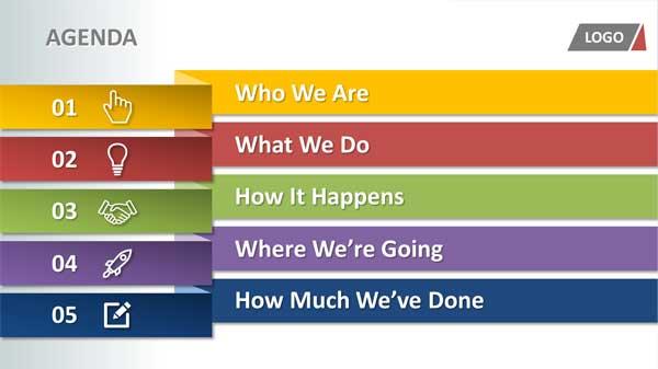 3 Steps to Inspiring Agenda Slides - ShowMakers PowerPoint Design