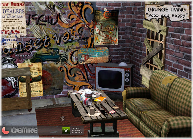 Cemre39s Grunge Living Poor And Happy