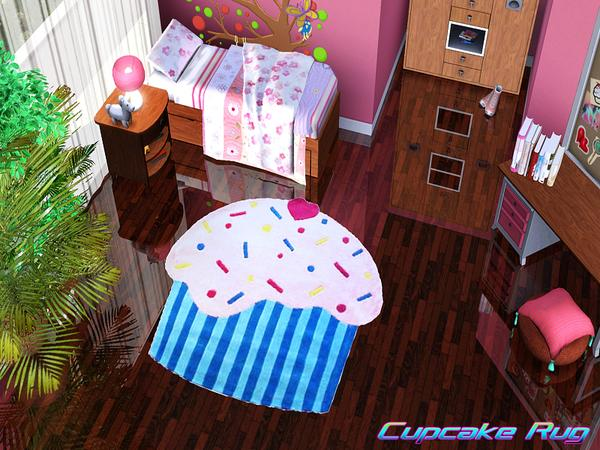 Pralinesims39 Cupcake Rug