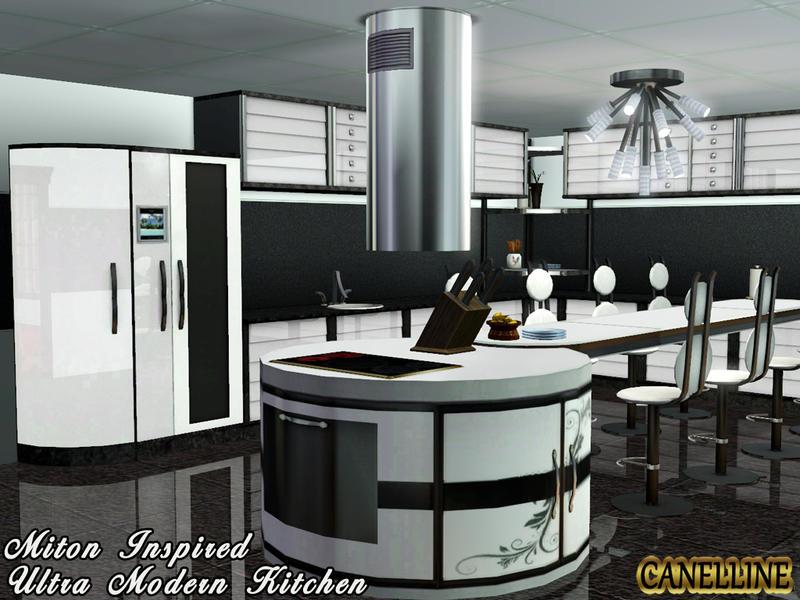 Canelline39s Miton Inspired Ultra Modern Kitchen