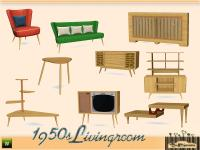 BuffSumm's 1950s Livingroom Pt. 1