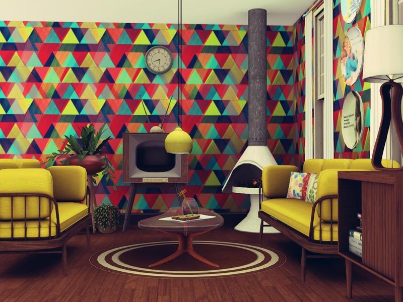pyszny16u0027s Back To Retro - Living Room - retro living room furniture