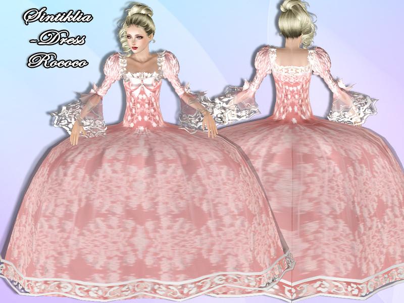 Sintikliasims39 Sintiklia Dress Rococo