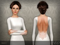 wedding hair sims 3 beo s wedding dress 35