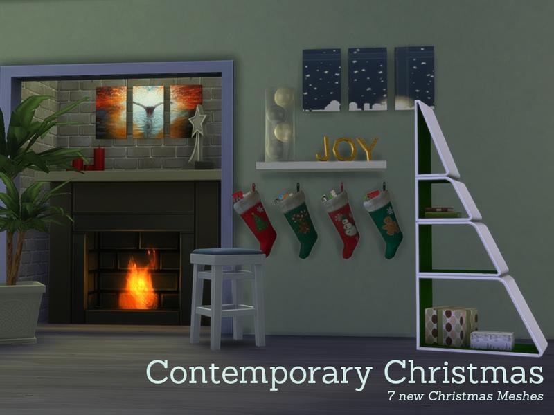 Angela\u0027s Contemporary Christmas Decorations - contemporary christmas decorations