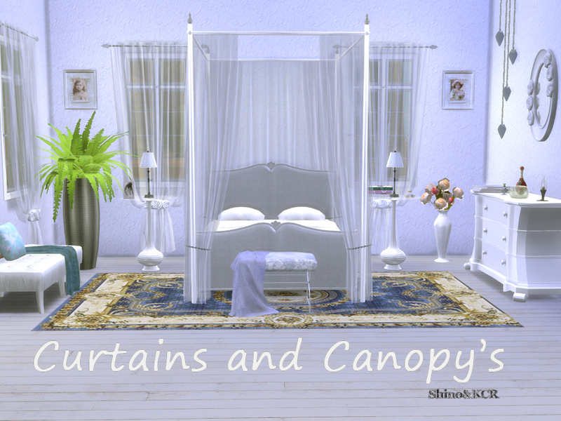 Shinokcr s curtains and canopy s
