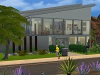 belahfraga's Modern Fountain & Garden House