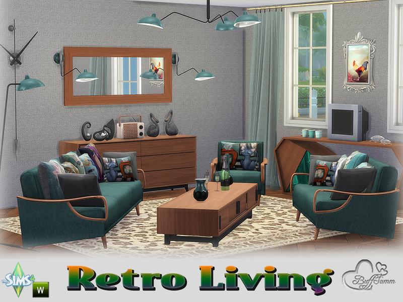 BuffSummu0027s Retro Livingroom - retro living room furniture