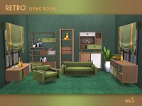 soloriya's Retro Living room