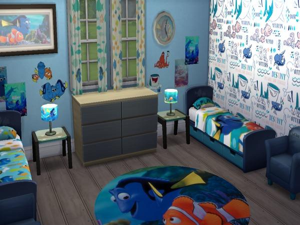 Toddler Girl Bedroom Wallpaper Grumpyglitter S Disney Pixar Finding Dory Child Room Set