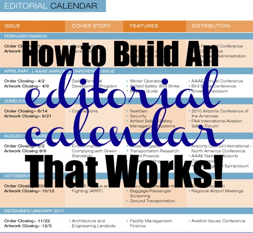 Editorial Calendar Download a Free Template for Your Blog