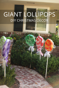 Giant Lollipops Christmas Decor | Turn Pool Noodles Into ...