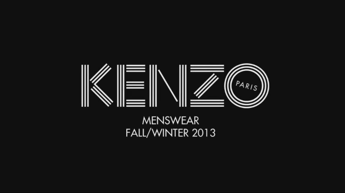 Fall Chevron Wallpaper Kenzo Fw 2013 14 The Skinny Beep