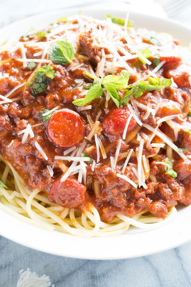 Filipino Style Spaghetti Sauce