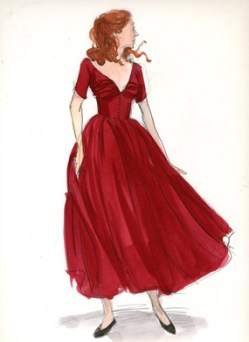 benjamin-button-red-dress-sketch