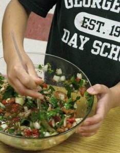 Chimichurri is full of fresh vegetables