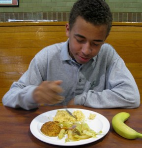 Students are served three balanced meals every day, and have unlimited access to fresh fruits and salad