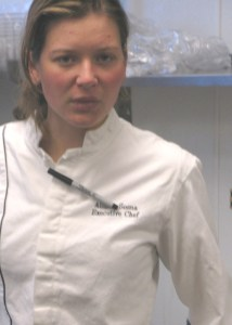 Allison Sosna, executive chef, Fresh Start Catering