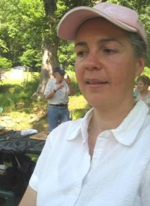 Sylvie Rowand, a pro at entertaining