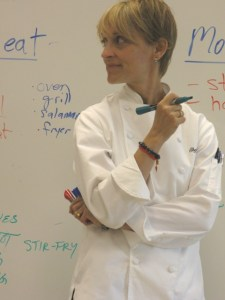 Chef instructor Kate Adamick