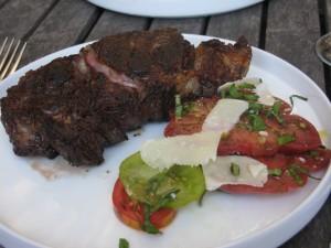 Favorite steak for flavor: ribeye