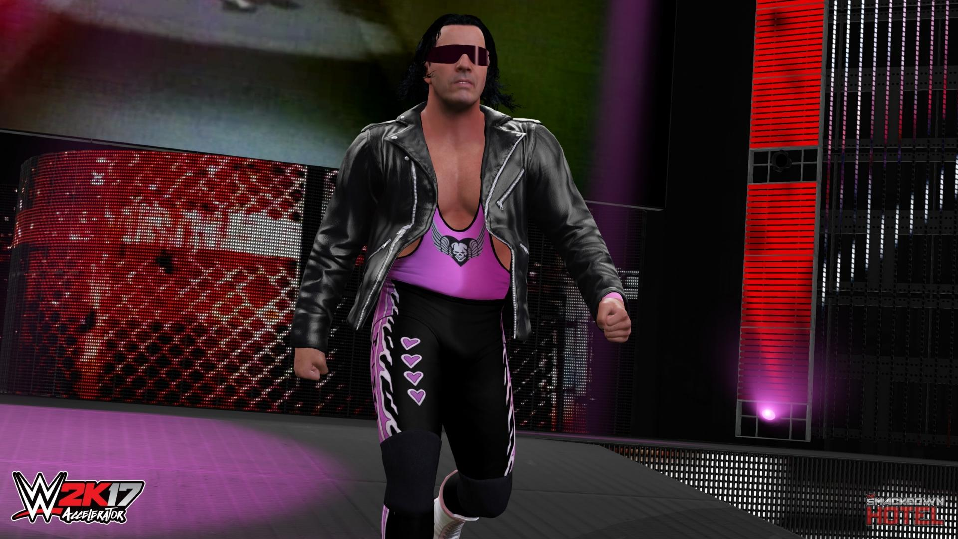 Fall Wallpapers Pc Bret Hart Wwe 2k17 Roster