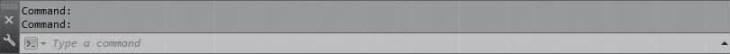 default autocad 2015 command line