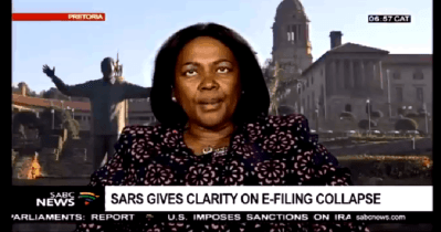 Cringe alert: SARS' chief IT officer berated after car crash interview [video]