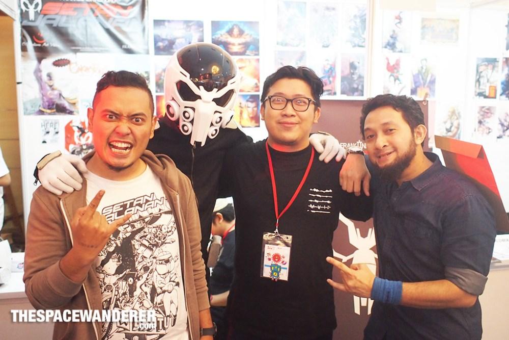 me with the Setan Jalanan crew