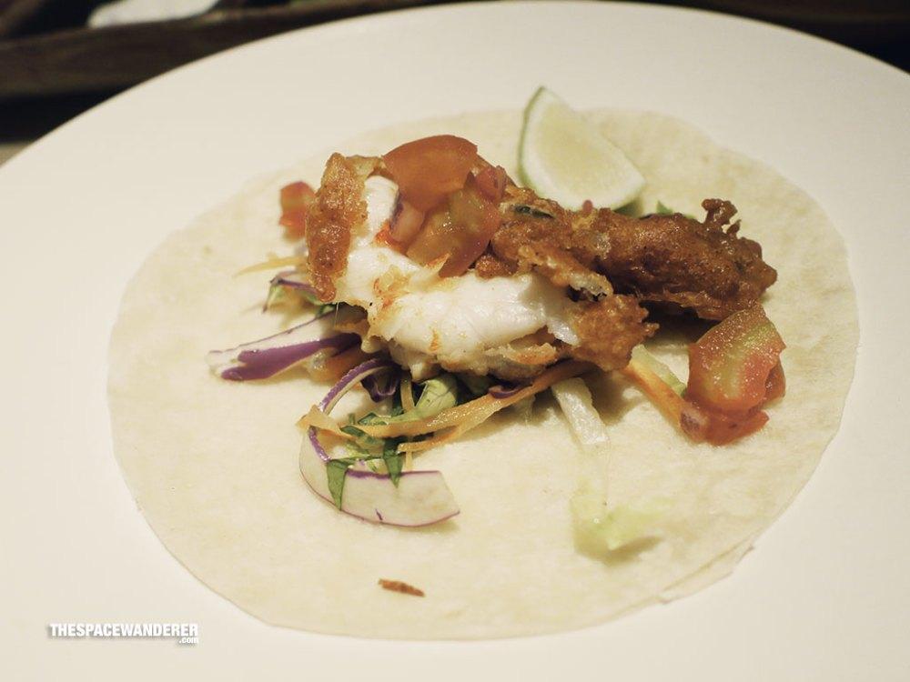 De Camaron (Shrimp/ Prawn) Al Mojo de Ajo (scampi) and chipotle aioli Capeados (buttered) fresh pico de gallo